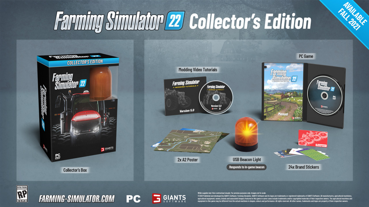 FS22 Gets a Collector's Edition