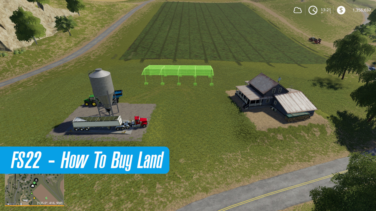How To Buy Land in FS22