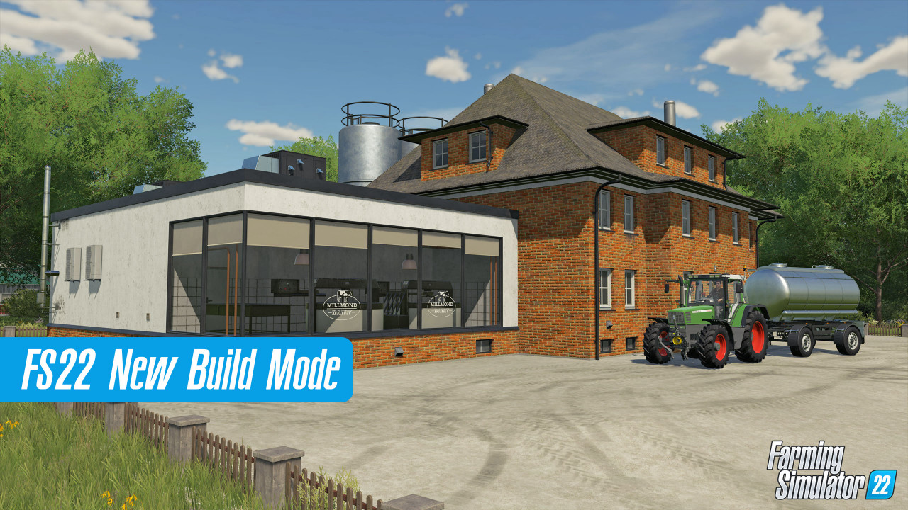 New Build Mode in FS22