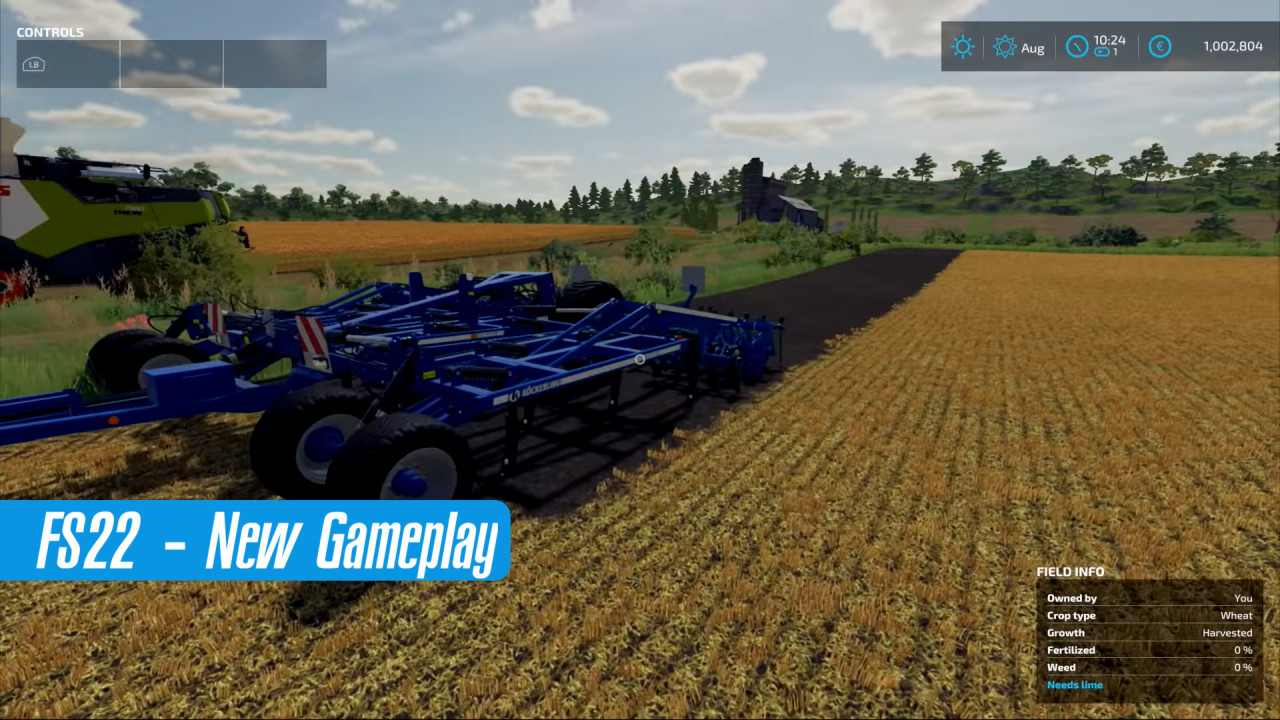 New Gameplay for FS22 Released!