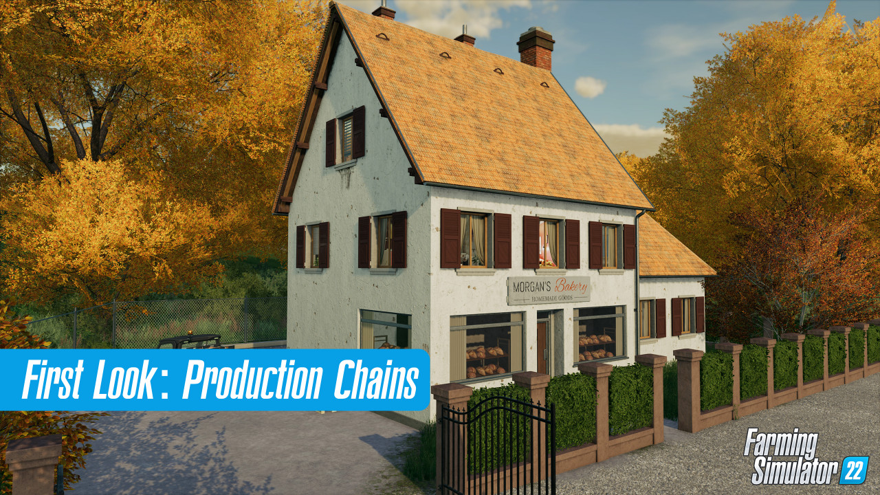 New FS22 Feature - Production Chains
