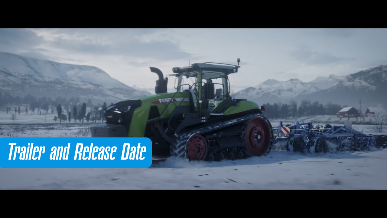 Release Date and Trailer for Farming Simulator 22 Revealed