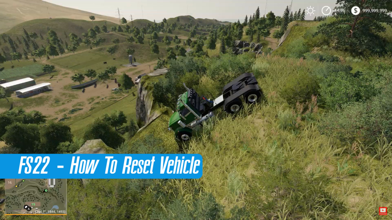 How To Reset Vehicle in FS22
