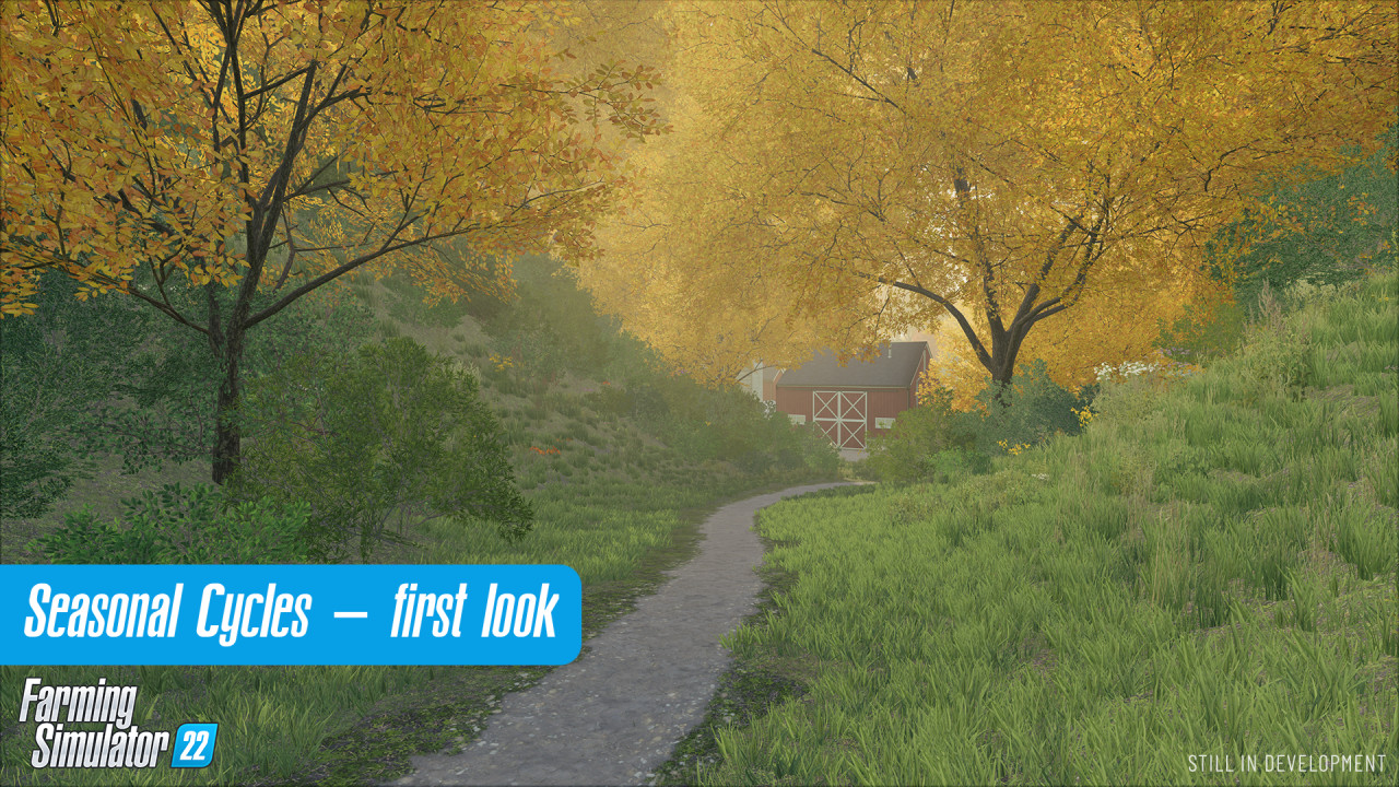 First Look at Seasonal Cycles In FS 22
