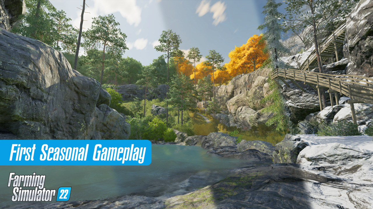 New Seasonal Gameplay in FS22